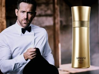 Homem No Espelho - perfume masculino Armani Code Absolu Gold