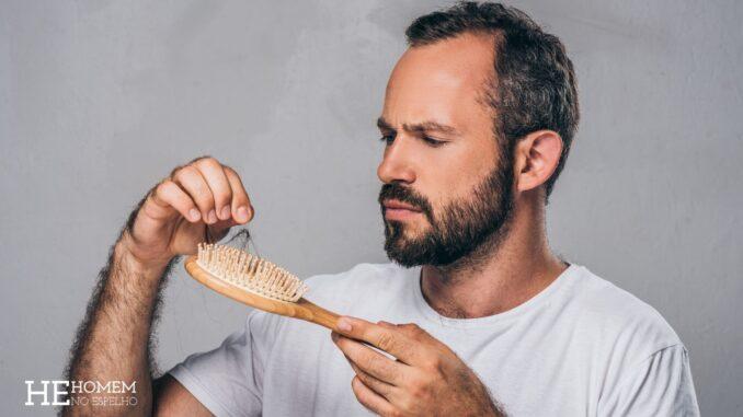 Homem No Espelho - As 4 principais causas da queda de cabelo