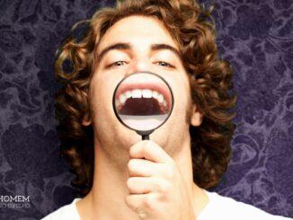 Homem No Espelho - Bruxismo - ranger de dentes