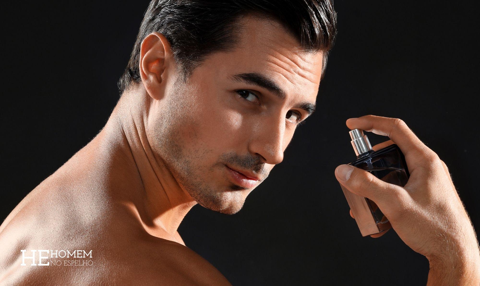 Homem No Espelho - Eau de parfum é a tendência em fragrâncias masculinas - EDP