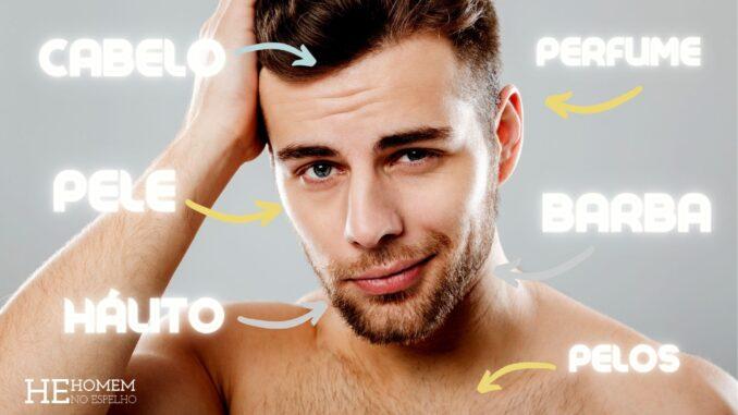 Homem No Espelho - como se preparar para um encontro cabelo barba pele