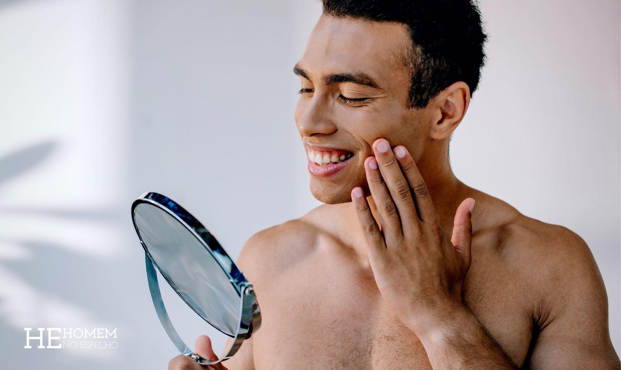 Homem No Espelho - Como retardar o envelhecimento do seu rosto