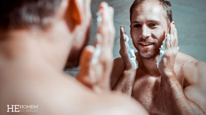 Homem No Espelho - Cuidar de si mesmo é o segredo para começar bem o dia