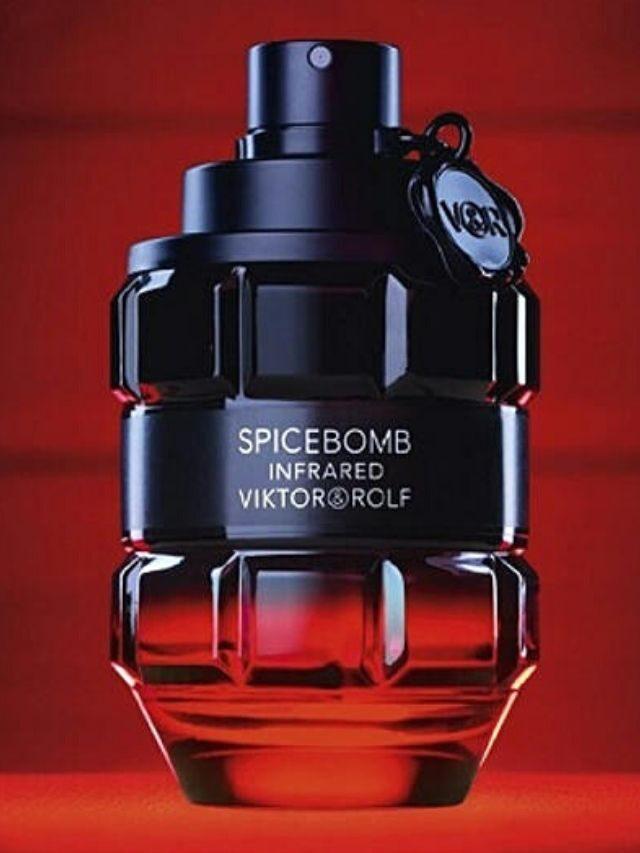 Frascos de perfume que dão show